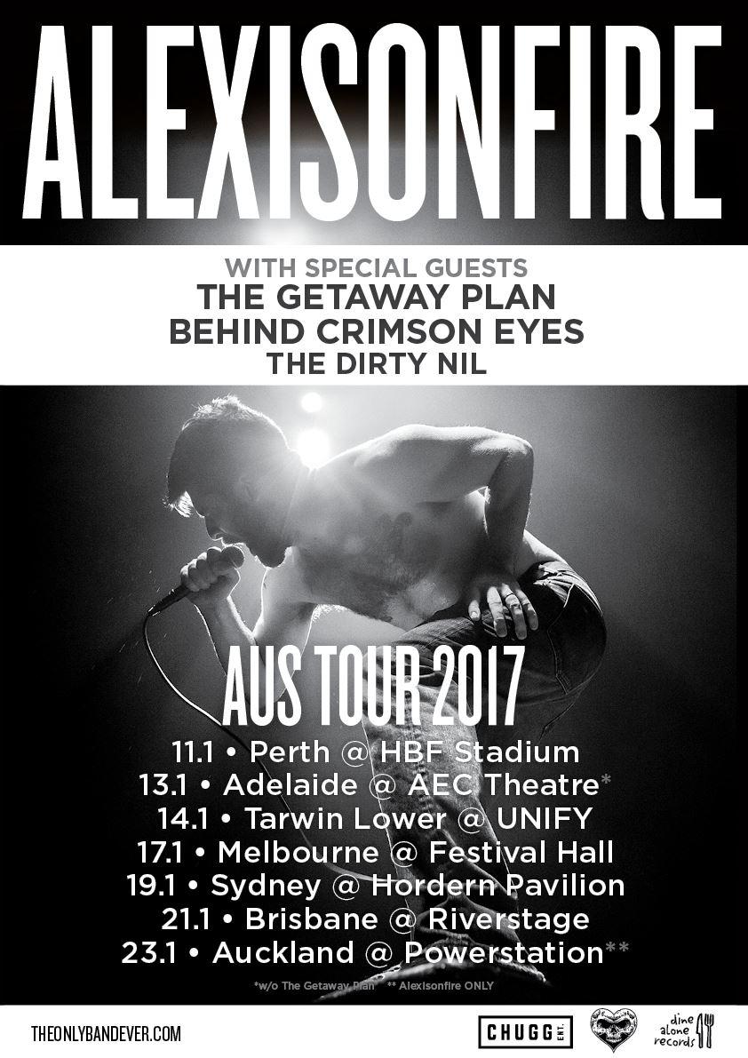 Alexisonfire Powerstation Auckland